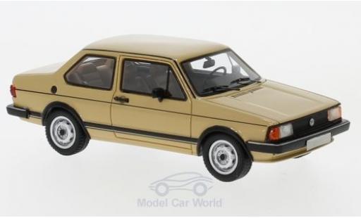 Volkswagen Jetta 1/43 Neo I hellmarron 1980 miniature