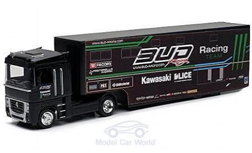 Renault Magnum 1/43 New Ray AE500 Bud Racing Team Truck mit Kastenauflieger miniature