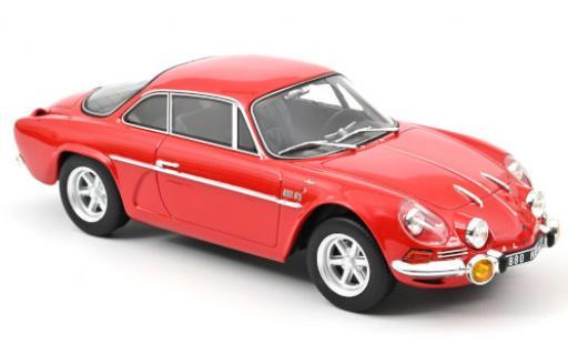 Alpine A110 1/18 Norev 1600S rouge 1969 miniature