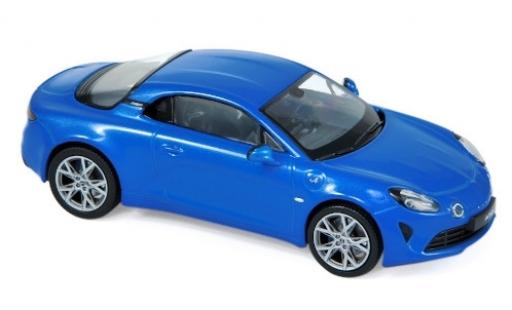 Alpine A110 1/43 Norev Pure metallise bleue 2018 miniature