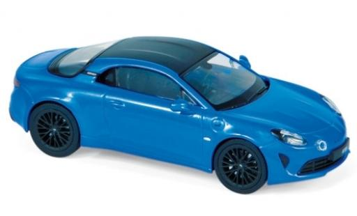 Alpine A110 1/43 Norev S metallise bleue/carbon 2019 miniature
