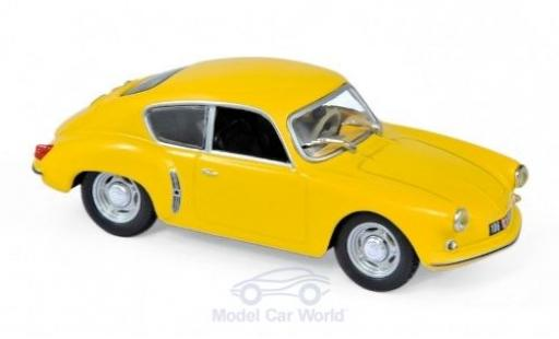 Alpine A106 1/43 Norev Renault yellow 1956 diecast model cars
