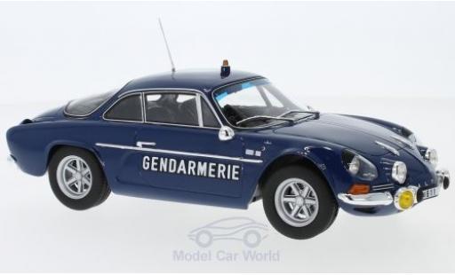 Alpine A110 1/18 Norev Renault 1600S Gendarmerie 1971 diecast