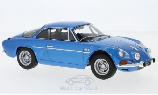 Alpine A110 1/18 Norev Renault 1600S metallise blue 1971 diecast model cars