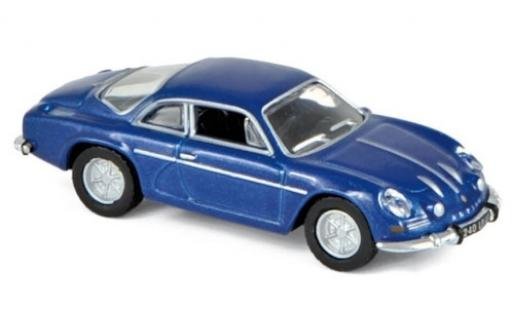 Alpine A110 1/87 Norev Renault metallise bleue 1973 miniature
