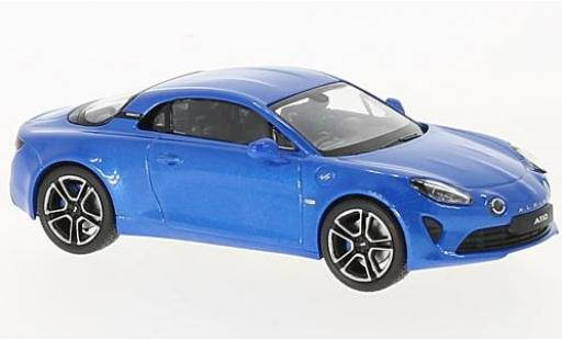 Alpine A110 1/43 Norev Renault Premiere Edition metallise blue 2017 diecast model cars