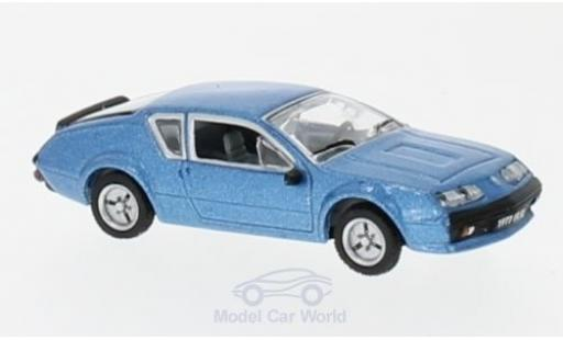 Alpine A310 1/87 Norev Renault metallic-bleue 1977 miniature