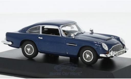 Aston Martin DB5 1/43 Norev Coupe bleue RHD 1964 miniature