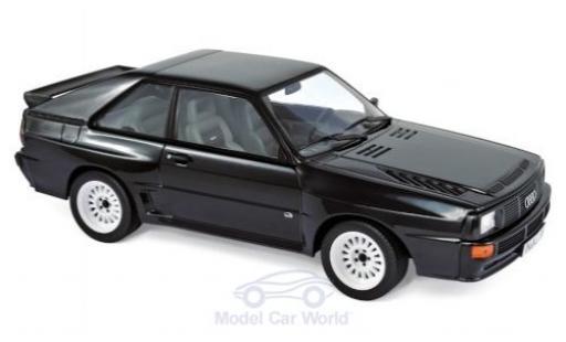 Audi Sport Quattro 1/18 Norev Sport quattro schwarz 1985 modellautos