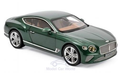 Bentley Continental 1/18 Norev GT metallic green 2018 diecast