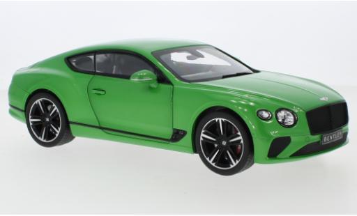 Bentley Continental 1/18 Norev GT metallise green 2018 diecast model cars