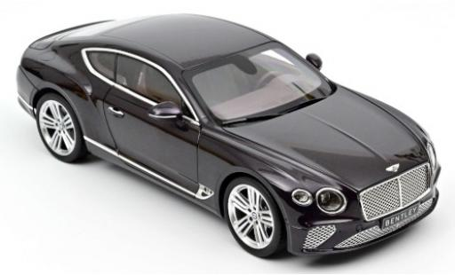 Bentley Continental 1/18 Norev GT metallise lila 2018 diecast model cars
