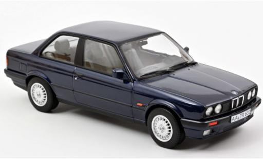 Bmw 325 1/18 Norev i (E30) metallise bleue 1988 miniature