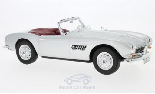Bmw 507 1/18 Norev grey 1956 diecast model cars
