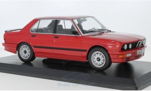 Bmw M5 1/18 Norev 35i (E28) rouge 1986 miniature
