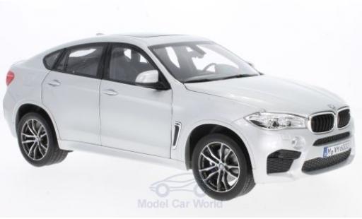 Bmw X6 1/18 Norev M grise 2015 miniature