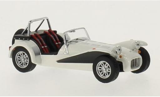 Caterham Super Seven 1/43 Norev blanche RHD 1979 miniature