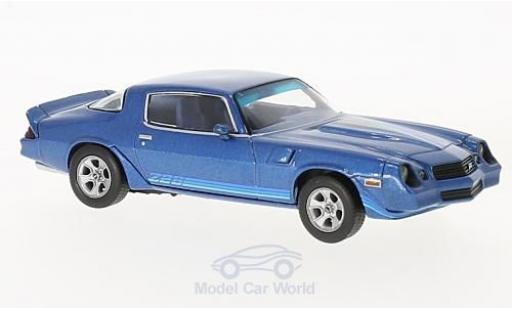 Chevrolet Camaro 1/43 Norev Z28 metallic blue 1980 mit blueen Streifen diecast