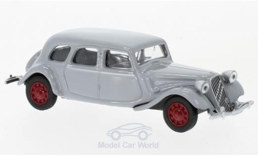 Citroen Traction 15 1/64 Norev -SIX grey 1939 diecast model cars