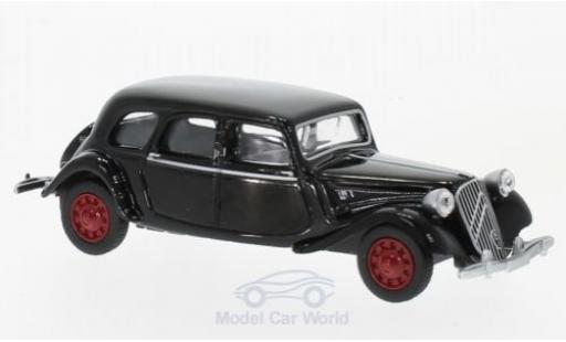 Citroen Traction 15 1/64 Norev -SIX black 1939 diecast model cars
