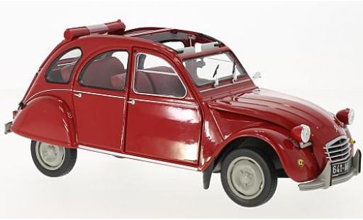 Citroen 2CV 1/18 Norev 6 rosso 1972 modellino in miniatura