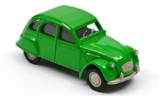 Citroen 2CV 1/64 Norev 6 Special verde 1979 coche miniatura