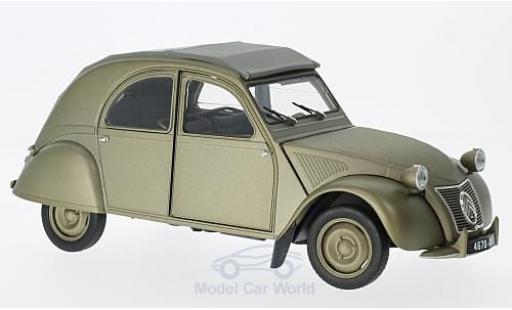Citroen 2CV 1/18 Norev A matt-grise 1950 miniature