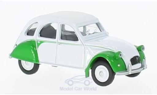 Citroen 2CV 1/64 Norev Dolly white/green 1986 diecast model cars