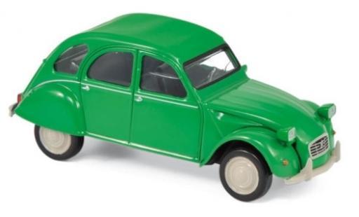 Citroen 2CV 1/43 Norev verde 1979 Jetcar modellino in miniatura