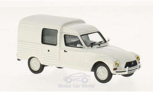 Citroen Acadiane 1/43 Norev white 1979 diecast model cars