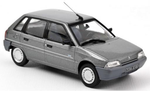 Citroen AX 1/43 Norev TEN metallise grey 1992 diecast model cars
