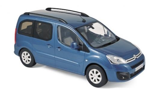 Citroen Berlingo 1/18 Norev metallise blue 2016 diecast model cars