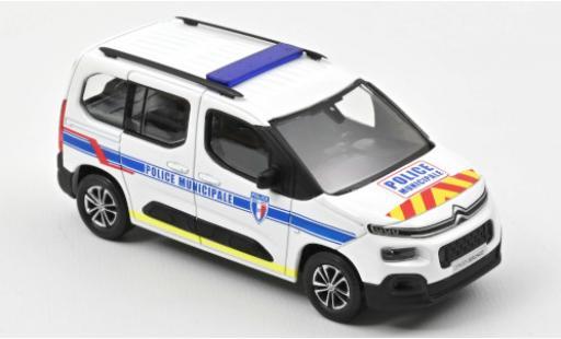 Citroen Berlingo 1/43 Norev Police Municipale (F) 2020 avec zusätzlichem Décorer sur Capot et rabat arrière diecast model cars
