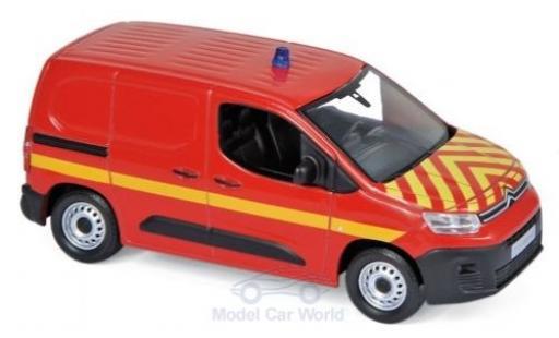 Citroen Berlingo 1/43 Norev Van Pompiers (F) 2018 miniature