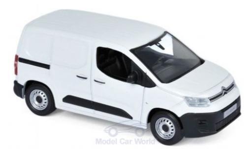 Citroen Berlingo 1/43 Norev Van blanche 2018 miniature