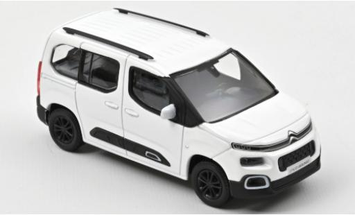 Citroen Berlingo 1/43 Norev white 2020 diecast model cars