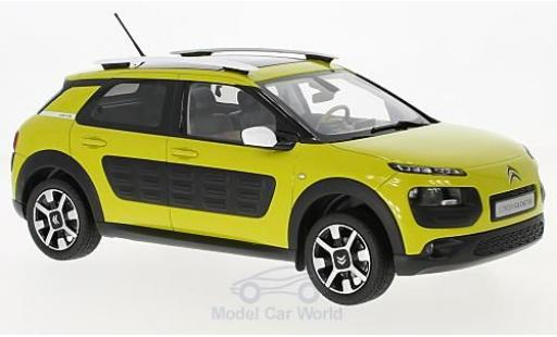 Citroen C4 1/18 Norev Cactus yellow/black 2014 diecast model cars