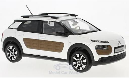 Citroen C4 1/18 Norev Cactus metallise white/brown 2014 diecast model cars