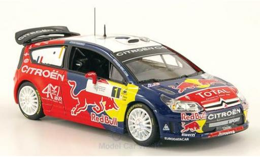 Citroen C4 WRC 1/43 Norev WRC No.1 Red Bull Tour de Corse 2008 miniature