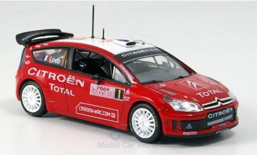 Citroen C4 WRC 1/43 Norev WRC Rallye Monte-Carlo 2008 miniature