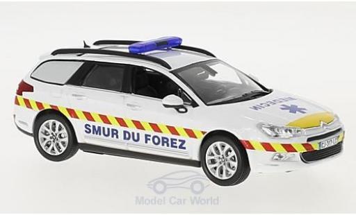 Citroen C5 1/43 Norev Tourer SMUR de Feurs 2011 miniature