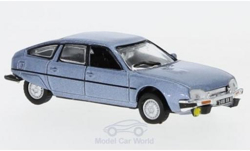 Citroen CX 1/87 Norev 2400 GTi metallise bleue 1977 miniature