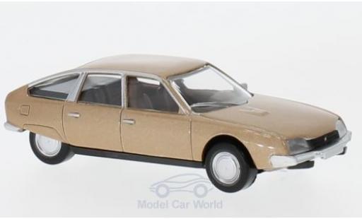 Citroen CX 1/64 Norev métallisé beige 1974 miniature