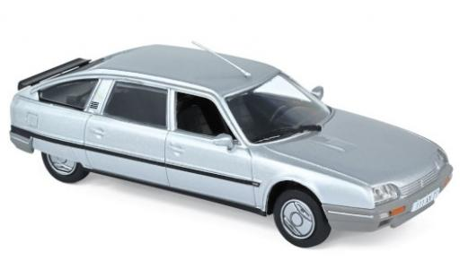 Citroen CX 1/43 Norev Turbo 2 Prestige grey 1986 diecast model cars