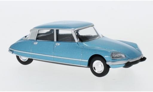 Citroen DS 1/64 Norev 23 Pallas metallise azul 1972 coche miniatura