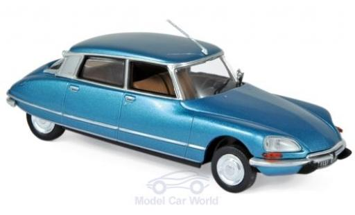 Citroen DS 1/43 Norev 23 Pallas metallise bleue 1974 miniature