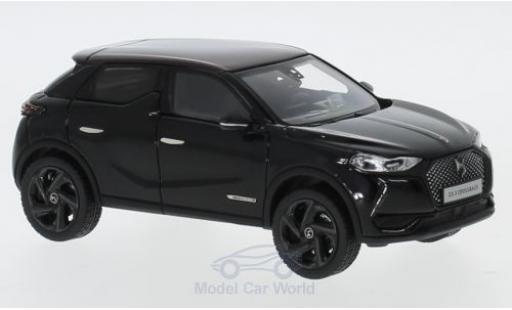 DS Automobiles DS3 1/43 Norev Citroen DS 3 Crossback La Premiere noire/rouge 2019 miniature