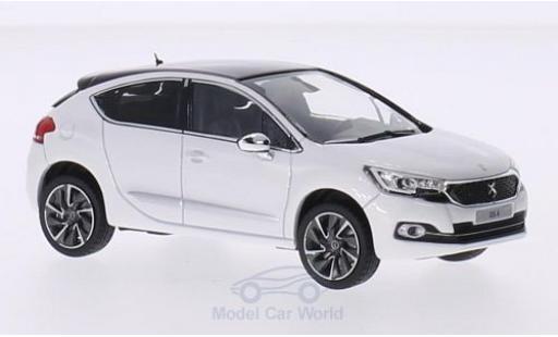 DS Automobiles DS4 1/43 Norev Citroen DS 4 metallise blanche/violette 2015 miniature
