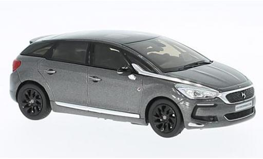 DS Automobiles DS5 1/43 Norev Citroen DS 5 Performance Line metallise grise/noire 2016 miniature