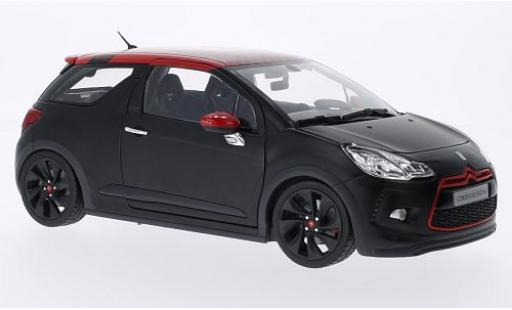 DS Automobiles DS3 1/18 Norev Citroen Racing S.Loeb matt-noire/rouge 2012 miniature